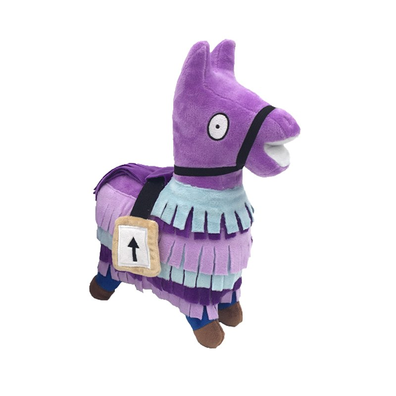 25cm Fortnite Inspired Loot Llama Plush Toy Item Zone